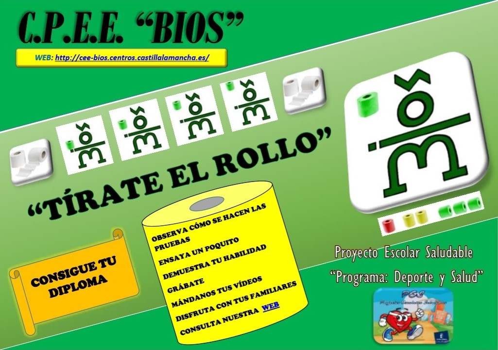 "Reto ""Tírate el rollo"""