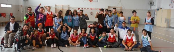 Partido de baloncesto-navidad 2014